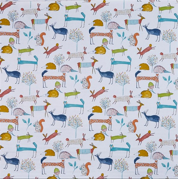Pour commande sur mesure toile enduite motifs animaux stylisés