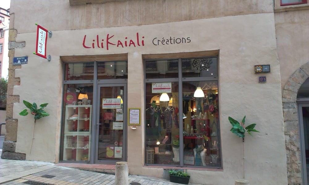 Atelier Boutique Lilikaïali – Lyon 4ème