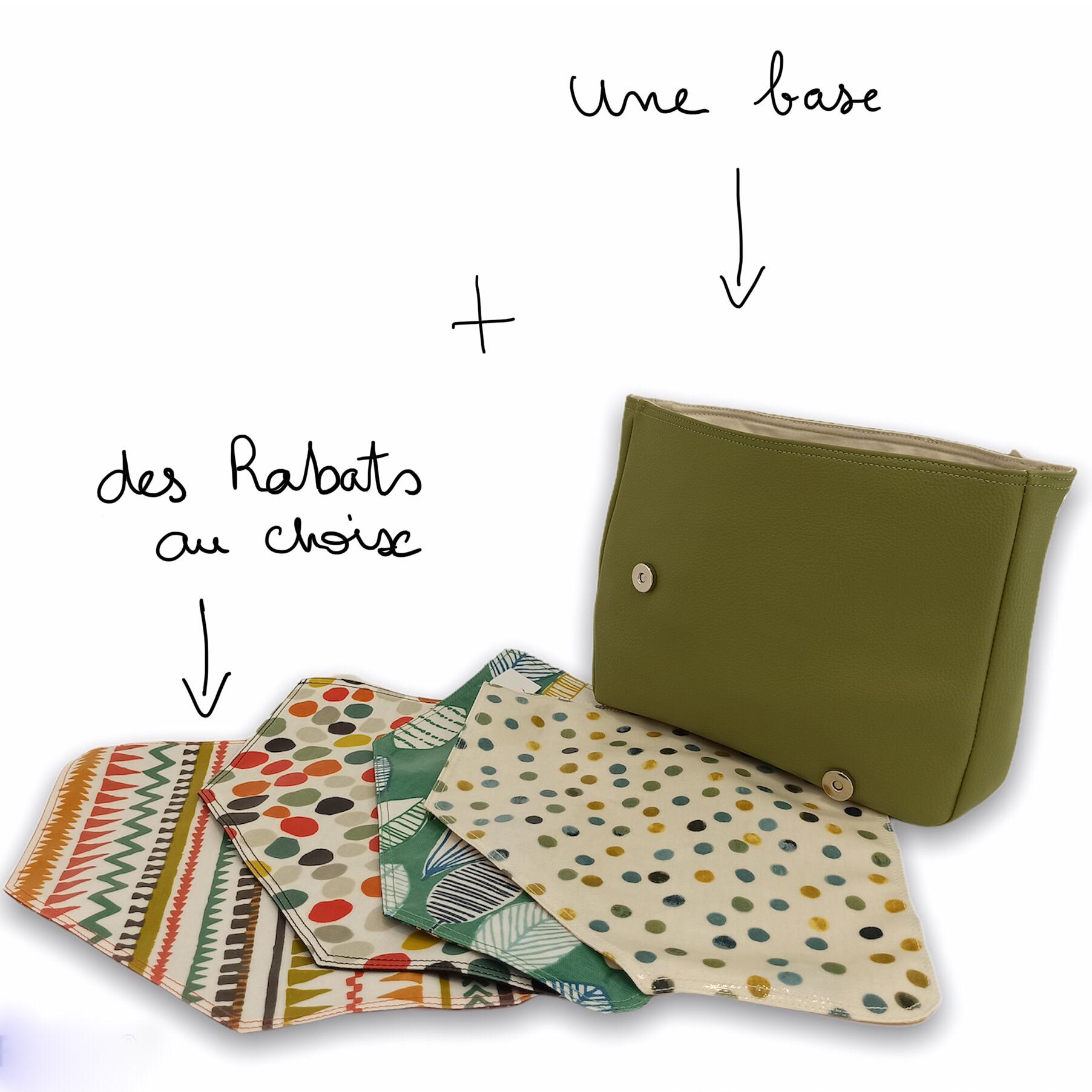 Composition d'un sac à rabat amovible IsaBelChoZ